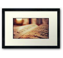 Espressivo... Framed Print