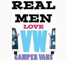 Real Men Love VW Camper Vans Unisex T-Shirt