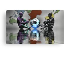 A World Controlled by Computers Canvas Print