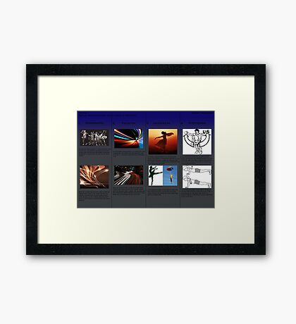 analysis Framed Print