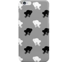 Black and White Cats iPhone Case/Skin
