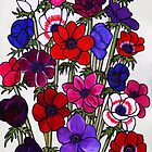 Anemone Bouquet by Susan Duffey