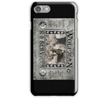 Wolfman K-9 Services Vintage (ver2) iPhone Case/Skin