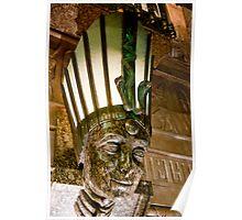 Egyptian Goddess Lamp Poster
