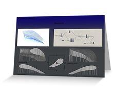 parametric analysis Greeting Card
