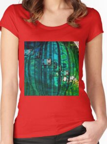 MRI Bubble  T-Shirt Women's Fitted Scoop T-Shirt