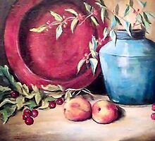 Still Life 25 by Pamela Plante