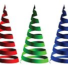 Cone RGB ribbons by Laschon Robert Paul