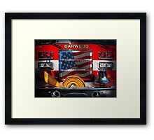 Fireman - I'll put your fire out Framed Print