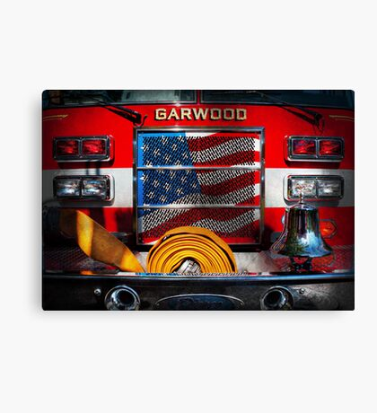 Fireman - I'll put your fire out Canvas Print