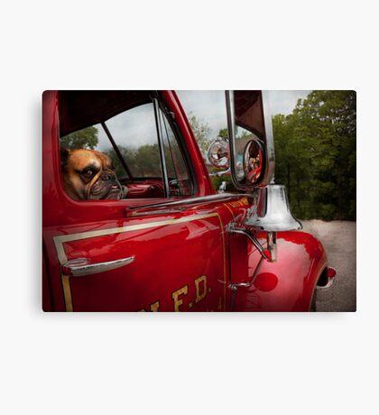 Fireman - Mack  Canvas Print