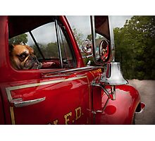 Fireman - Mack  Photographic Print