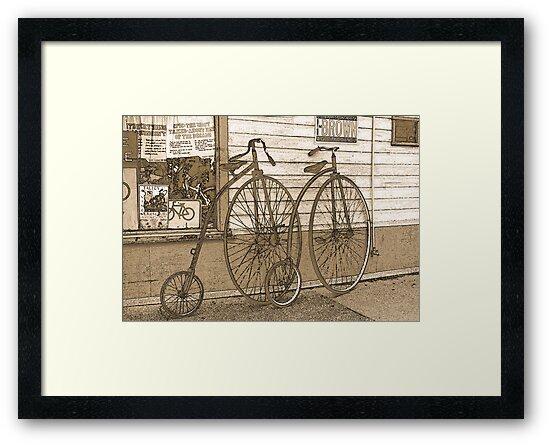 High-Wheel Bicycles by CarolM