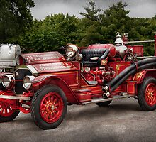 Fireman - Phoenix No2 Stroudsburg, PA 1923  by Mike  Savad