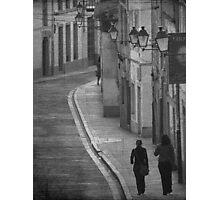 Rúas Photographic Print