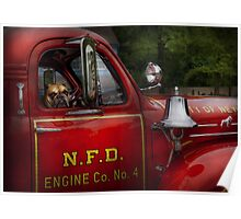 Fireman - This is my truck Poster