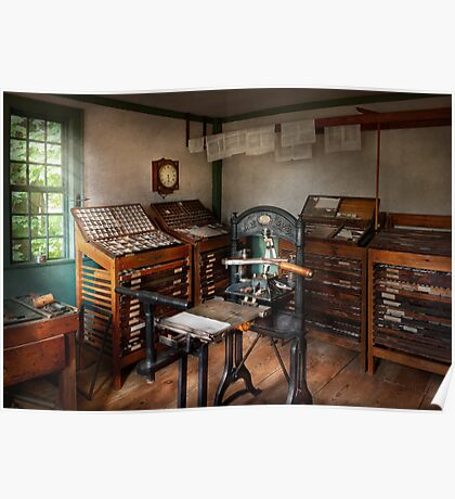 Graphic Artist - The print office - 1750  Poster