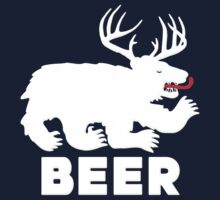 BEER = Bear + Deer by gleekgirl