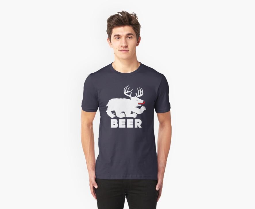 BEER = Bear + Deer by gleekgirl