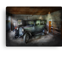 Automotive - Car - Granpa's Garage  Canvas Print