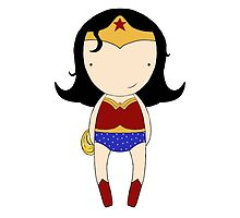 Cutest Wonder Woman Ever by Jen  Talley