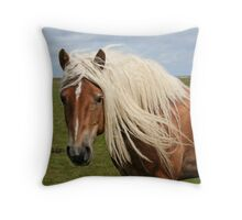 Beautiful blond hair! Throw Pillow