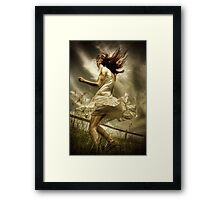 Wild in the country Framed Print