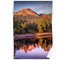 Morning Light Of The Mountain Poster