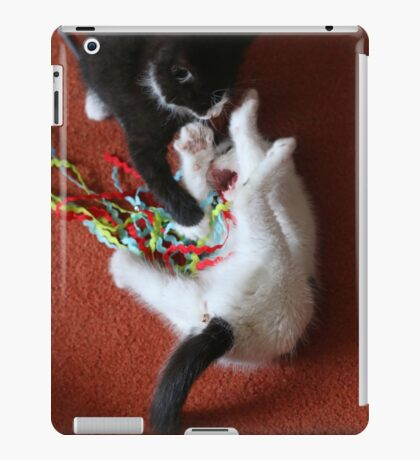 Playfighting Kittens iPad Case/Skin