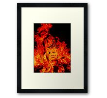 Fire Warlock Framed Print