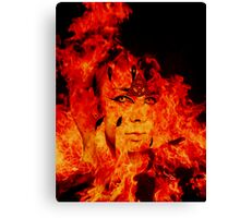 Fire Warlock Canvas Print