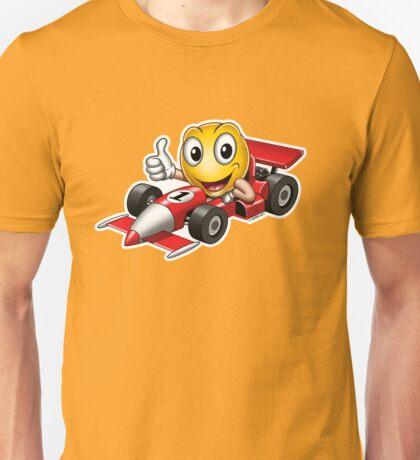 Smiley - Racing Car T-Shirt