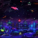 space city by murals2go