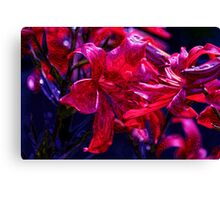 Psycho Lilies Canvas Print