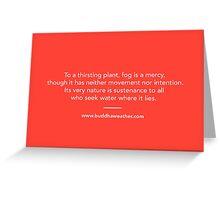 Mercy Fog Greeting Card