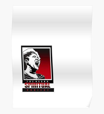 The Negro Spirital Project Logo 2 Poster