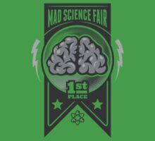 First Place at the Mad Science Fair One Piece - Short Sleeve