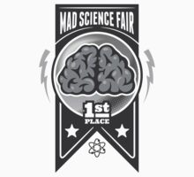 First Place at the Mad Science Fair Kids Tee