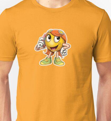 Smiley - Girl Phone T-Shirt