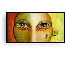 Bolly Eyes Canvas Print