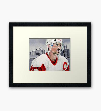 Steve Yzerman Framed Print