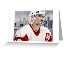 Steve Yzerman Greeting Card