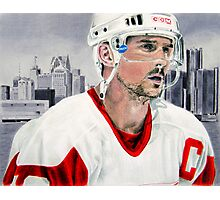 Steve Yzerman Photographic Print