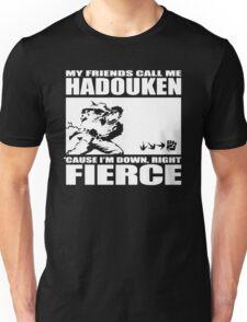 Street Fighter - Down, Right, Fierce Unisex T-Shirt