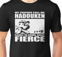 Street Fighter - Down, Right, Fierce Unisex T-Shirt