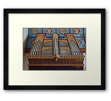 St Mary The Virgin, Petworth - Organ Framed Print