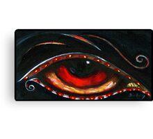 Indigo Eye Canvas Print