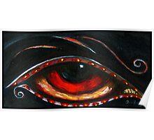 Indigo Eye Poster
