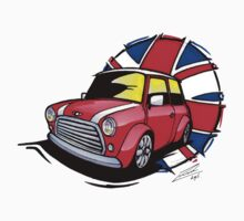 British Mini 01 Sketch by Richard Yeomans