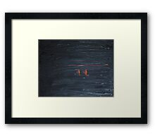 Night Dancers Framed Print